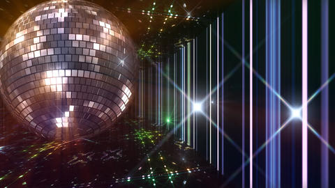Disco Floor C1H1Bs HD Stock Video Footage