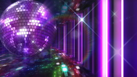 Disco Floor C1J1Bs HD Stock Video Footage