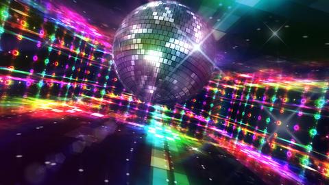Disco Floor C2Bs HD Stock Video Footage