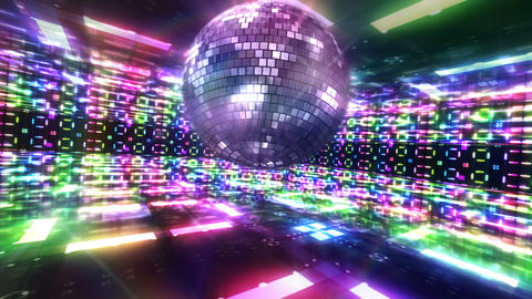 Disco Floor C2Bs HD Stock Video Footage