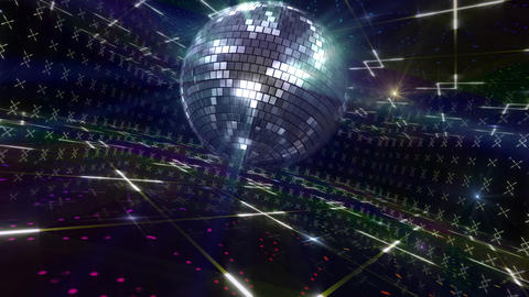 Disco Floor D2Bs HD Stock Video Footage