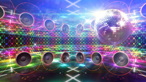 Disco Floor D4A HD Stock Video Footage
