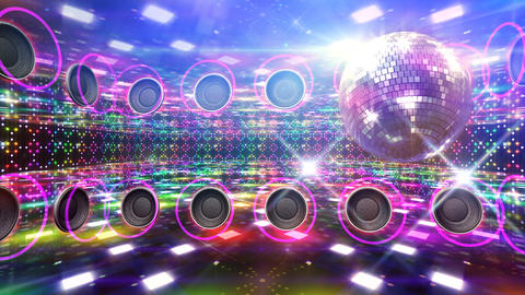 Disco Floor D4A HD Stock Video Footage