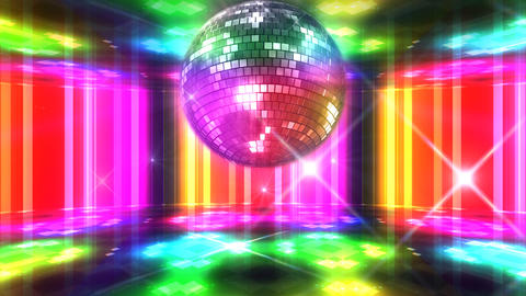 Disco Floor F1A1Bs HD Stock Video Footage
