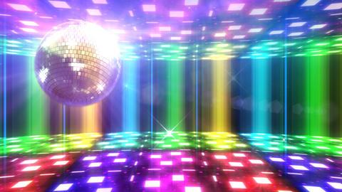 Disco Floor F1B1Sc HD Stock Video Footage