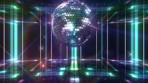 Disco Floor F1C1Bs HD Stock Video Footage