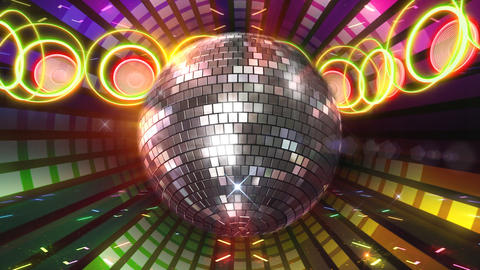 Disco Floor F1D1Ac HD Stock Video Footage