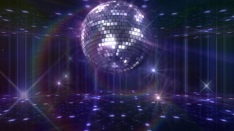 Disco Floor F1G1Bs HD Stock Video Footage
