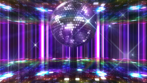 Disco Floor F1J1Bs HD Stock Video Footage