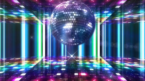 Disco Floor F1J1Bs HD Stock Video Footage