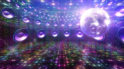Disco Floor H4Sc HD Stock Video Footage