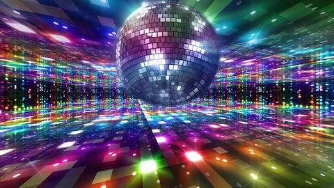 Disco Floor J1Bs HD Stock Video Footage