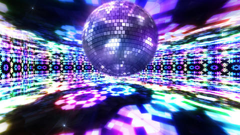 Disco Floor K1Bs HD Stock Video Footage
