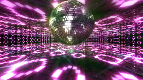 Disco Floor O1Bs HD Stock Video Footage