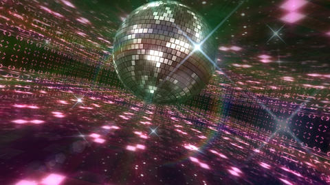 Disco Floor O2Bs HD Stock Video Footage