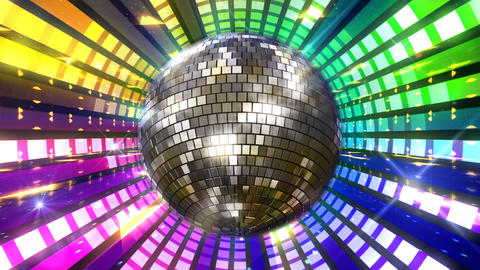 Disco Floor P1Eq HD Stock Video Footage