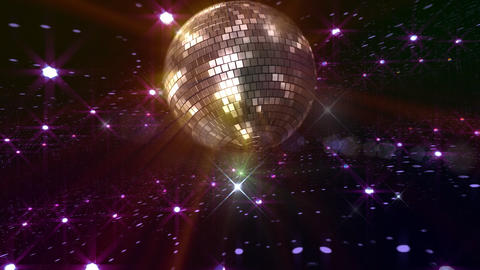 Disco Floor P2Bs HD Stock Video Footage