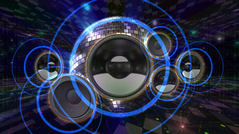 Disco Floor Q1Sp HD Stock Video Footage