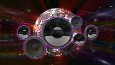Disco Floor Q2Sp HD Stock Video Footage