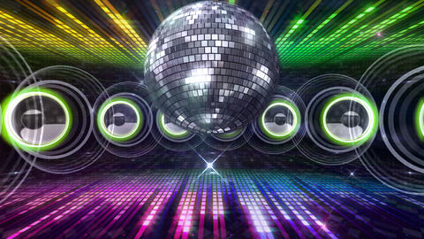 Disco Floor Q4C1c HD Stock Video Footage