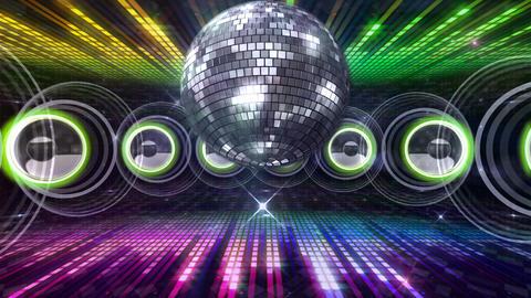 Disco Floor Q4C1c HD Stock Video Footage