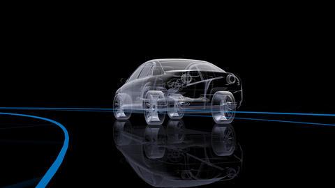 Car Electronics 2Cb HD Stock Video Footage