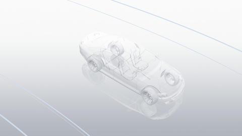 Car Electronics 3Ba HD Stock Video Footage