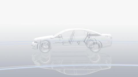 Car Electronics 3Bb HD Stock Video Footage