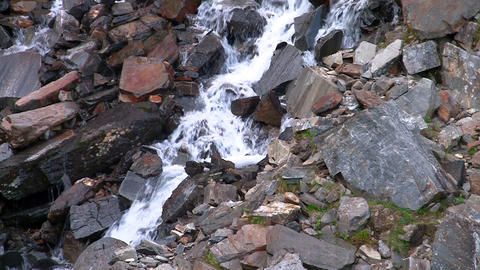 Waterfalls in the Mountains Norway, loop Stock Video Footage