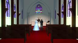 結婚式 CG動画素材