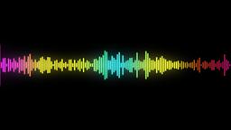 audio spectrum Stock Video Footage