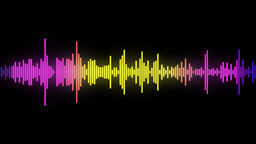 audio spectrum Stock Video Footage