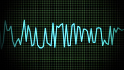 audio wave line Animation