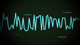 audio wave line maths Stock Video Footage