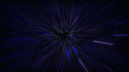 flying in blue space Stock Video Footage