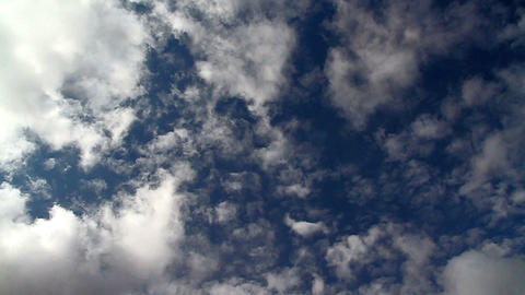 Cloud intersection Stock Video Footage