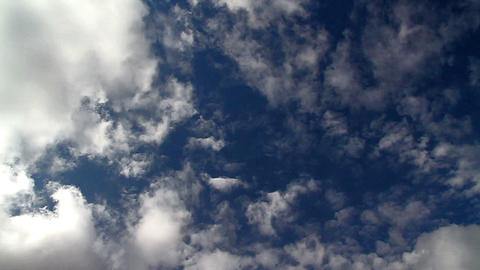 Cloud Intersection stock footage