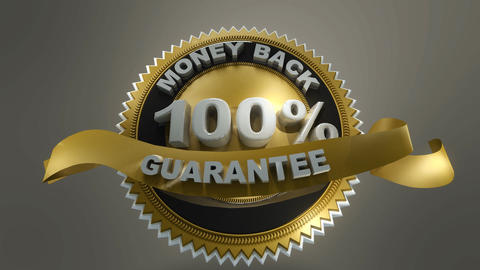 Money Back Guarantee CG動画素材