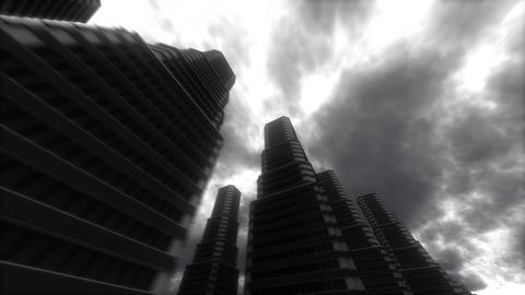 Urban Stroll. Skyscrapers Stock Video Footage