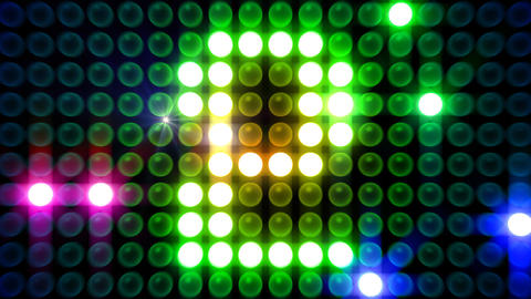 LED Countdown AdM1 HD Stock Video Footage