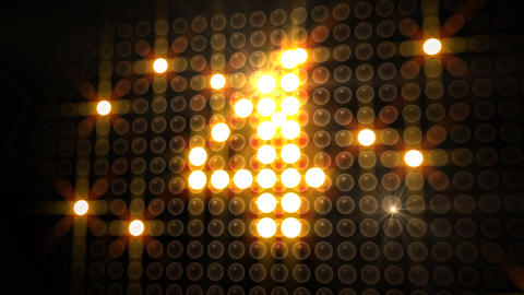 LED Countdown AdP1 HD Stock Video Footage
