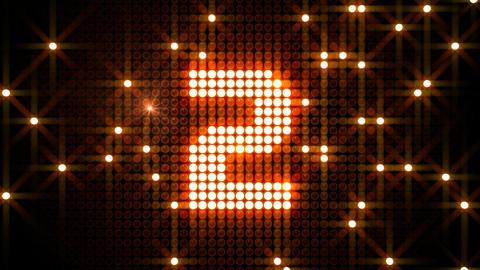 LED Countdown CdF2 HD Animation