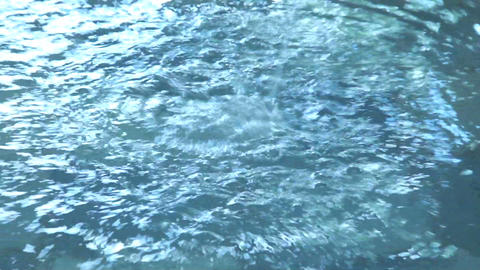 Water Jet with Ripple Stock Video Footage