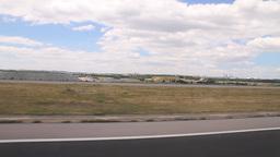 Aerial 10 landing Stock Video Footage