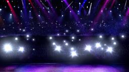 concert camera flash light Stock Video Footage
