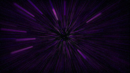 flying in purple space Animation