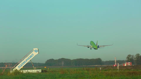 Takeoff. Climb Footage