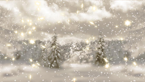 4k.New Year,christmas,3d winter background Animation