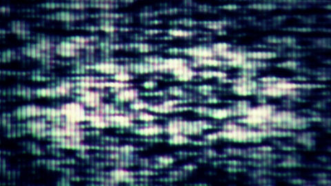 TV Noise 0753 Footage