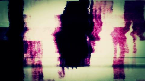 Digital TV Noise 0760 Footage